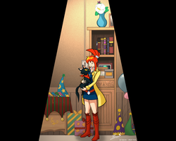 Lynne and Sissel - Final Scene by HardLugia