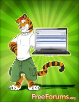 FreeForums Tiger by eyenod