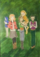 RotG AU Genderbend: All together by Tsukiko75014