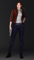 Claire Redfield Revelations 2 Render by Kunoichi-Supai