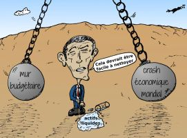 OBAMA et les boulets de demolition economique by optionsclickblogart
