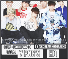 Pack png render: GOT7|JYP #01 by VipArmy