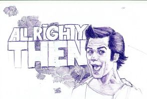 Jim Carrey by MetalMike91
