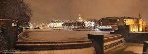 Wroclaw in winter by Ylvanqa