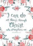 I can do all things through Christ ... by gb-illustrations