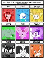 Lucia and Friends Color Meme by MangaFox156