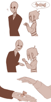Candy for Gaster by RestingJudge