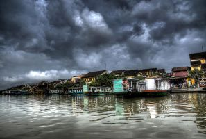 Hoi An Waterfront by InayatShah