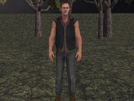 Daryl Dixon Download by Malefor666