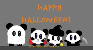 Happy Panda Halloween! by pandaparty666