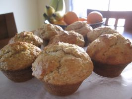 Buttermilk Oatmeal Muffins by maytel