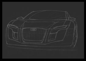 Audi-sketch by Morfiuss