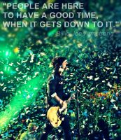 Billie Joe Armstrong, have a good time by 333Miami333