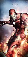 Iron-Man by Stealth14
