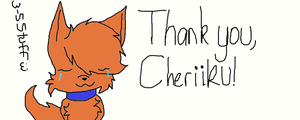 Thank you Cheriiku! by H3ARTOFTHEOCEAN