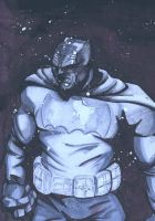 Cool Grey Scale Batman by LaithAlabbad