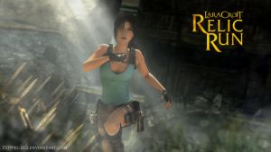 Lara Croft Relic Run: Cambodia by doppeL-zgz