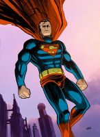 Superman by Cabbral