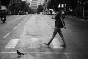 Crossing the street by sethyx1