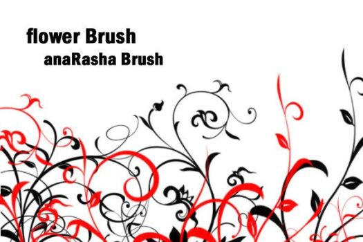 Flower Brush III by anaRasha-stock