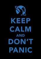 DON'T PANIC by tind