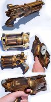 Steampunk Nerfgun 2 by Talfox
