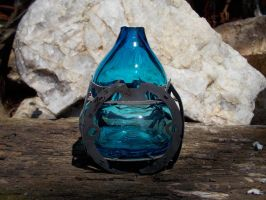 Metal And  Glass 2 by Bendzunas-Glass