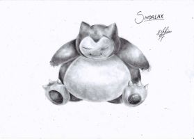 Snorlax by Oxide23