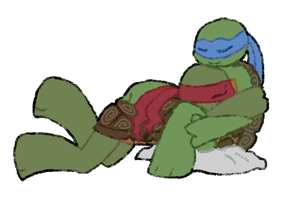 leo and raph by turpi