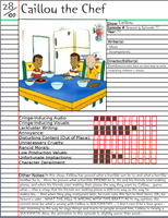 Caillou the Chef Notepage by Duckyworth