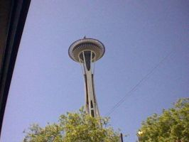 this is the sexiest tower ever. space needle. by Cindy-F-Jones