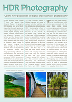 HDR page layout by lorrainerosado