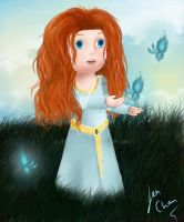 Fan Art Little Princess Merida (Brave) by Jen-Chan93
