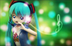 Mmd-Star contest | Loli Miku is Loli by ElyStrife