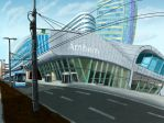 Arnhem Central Station by Goomuin