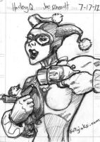 MCBA Sketch Card Harley by dirtyinks
