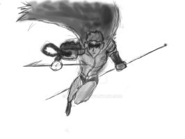 robin digital painting step 2 by marty0x