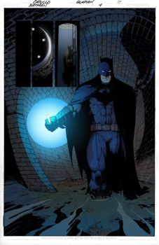 Batman in the sewer page by krissthebliss