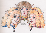 Three Sisters HS Colored 7308113 by Zeldalina