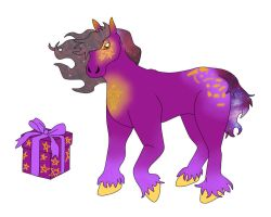Horse Adopt Box2 open by Lady-ALTernate