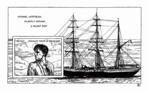 Ulysses Pages - No 18 The ship by besnglist