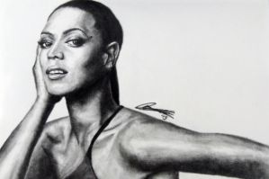 Beyonce BW (QueenB) by nohra91