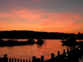 Navesink River Sunset by Ryser915