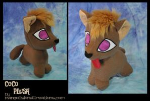 Coco plush by MangoIsland