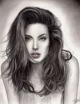 Angelina Jolie by TodoArtist