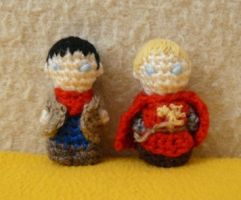 Merlin and Arthur by ilwin