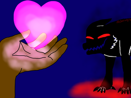 She gave her heart to you, a demon by Alcheminty