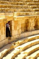 The Nosy Jerash Guard by sapphiresphinx