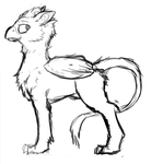 Gryphon Sketch by jmpony