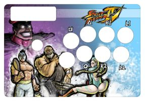 StreetFighter 4: fight-Stick by dio-03